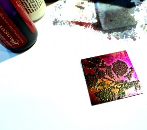 Embossing Powders On Metal Complex Welcome To The Blog