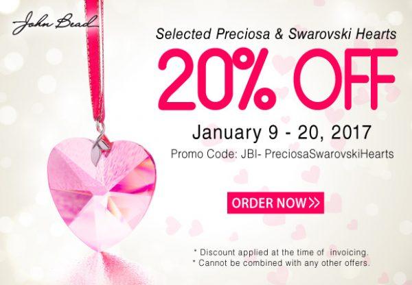 Preciosa-&-Swarovski-Heart-Sale