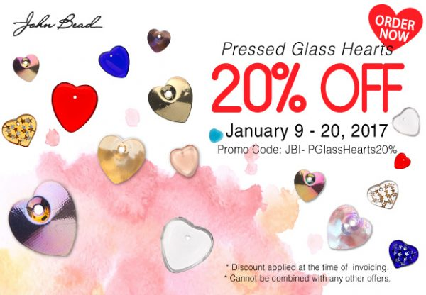 Pressed-Glass-Heart-Sale