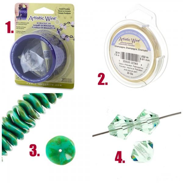 Artistic Wire 3D Bracelet Jig
