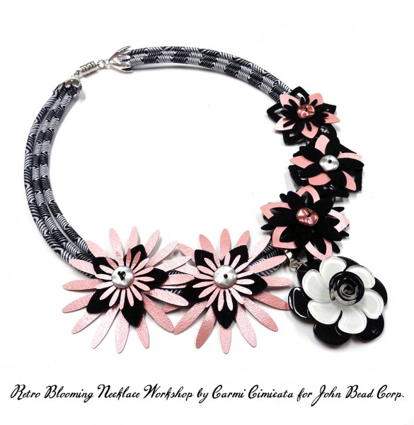 RETRO BLOOMING Necklace for CHA 2016