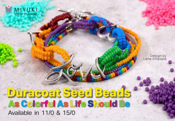 Miyuki Duracoat Seed Bead